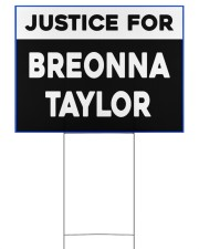 Justice for Breonna Taylor yard sign 24x18 Yard Sign front