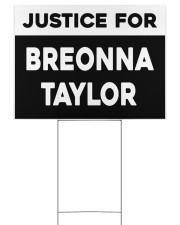 Justice for Breonna Taylor yard sign Yard Signs tile