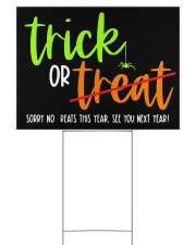 Trick or no Treat yard sign Yard Signs tile