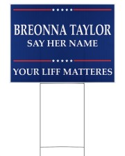 Breonna Taylor Your Life Mattered yard sign Yard Signs tile