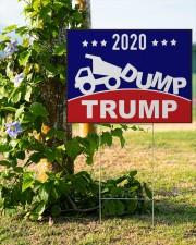 2020 Dump Trump yard side 24x18 Yard Sign aos-yard-sign-24x18-lifestyle-front-19