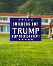 Builders for Trump yard sign 24x18 Yard Sign aos-yard-sign-24x18-lifestyle-front-03