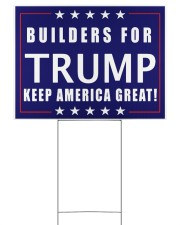 Builders for Trump yard sign Yard Signs tile