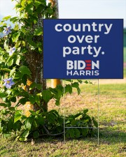 Biden Harris country over party 24x18 Yard Sign aos-yard-sign-24x18-lifestyle-front-19