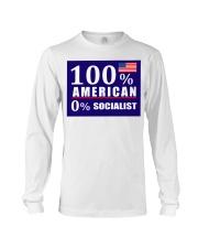 100 American Socialist yard sign Long Sleeve Tee thumbnail
