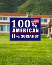 100 American Socialist yard sign 24x18 Yard Sign aos-yard-sign-24x18-lifestyle-front-03