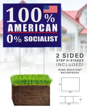 100 American Socialist yard sign 24x18 Yard Sign aos-yard-sign-24x18-lifestyle-front-28