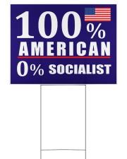 100 American Socialist yard sign Yard Signs tile