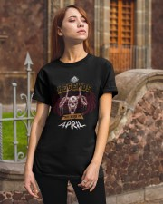 Distressed Flying Goat -April Classic T-Shirt apparel-classic-tshirt-lifestyle-06