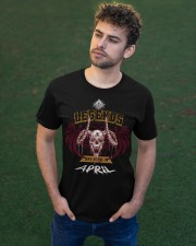 Distressed Flying Goat -April Classic T-Shirt apparel-classic-tshirt-lifestyle-front-43