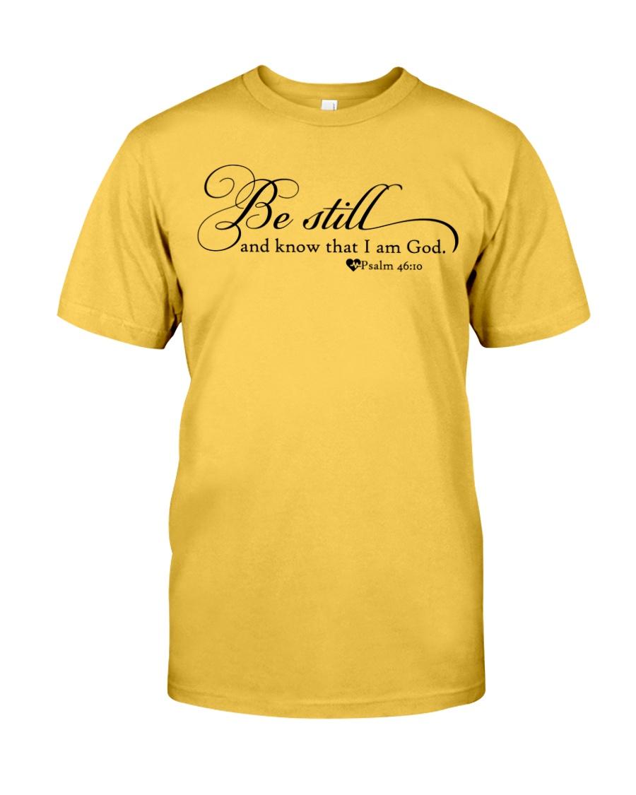 PSALM 46:10 Classic T-Shirt