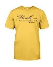 PSALM 46:10 Classic T-Shirt thumbnail