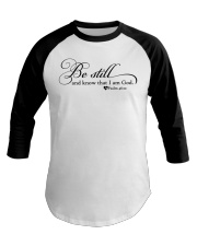 PSALM 46:10 Baseball Tee tile