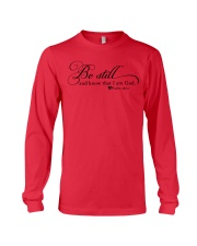 PSALM 46:10 Long Sleeve Tee front