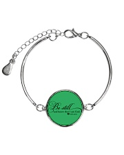 PSALM 46:10 Metallic Circle Bracelet thumbnail