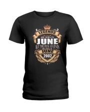 LEGENDS ARE BORN IN JUNE 2002 Ladies T-Shirt thumbnail