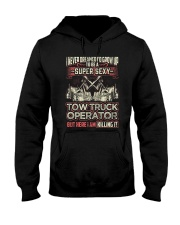 SEX TOW TRUCK OPERATOR TRUCKER DRIVERSS Hooded Sweatshirt thumbnail
