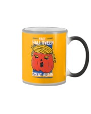 It's time to make halloween great again Color Changing Mug thumbnail