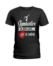 Gym Moms' Pride Ladies T-Shirt thumbnail