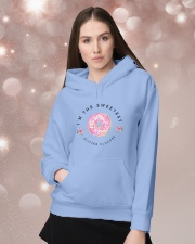I'm The Sweetest Hooded Sweatshirt lifestyle-holiday-hoodie-front-1