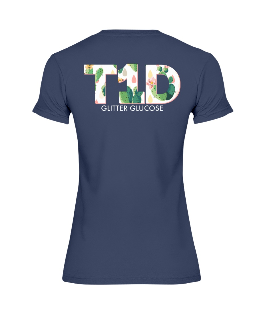 Team T1D Premium Fit Ladies Tee