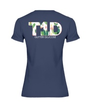 Team T1D Premium Fit Ladies Tee back