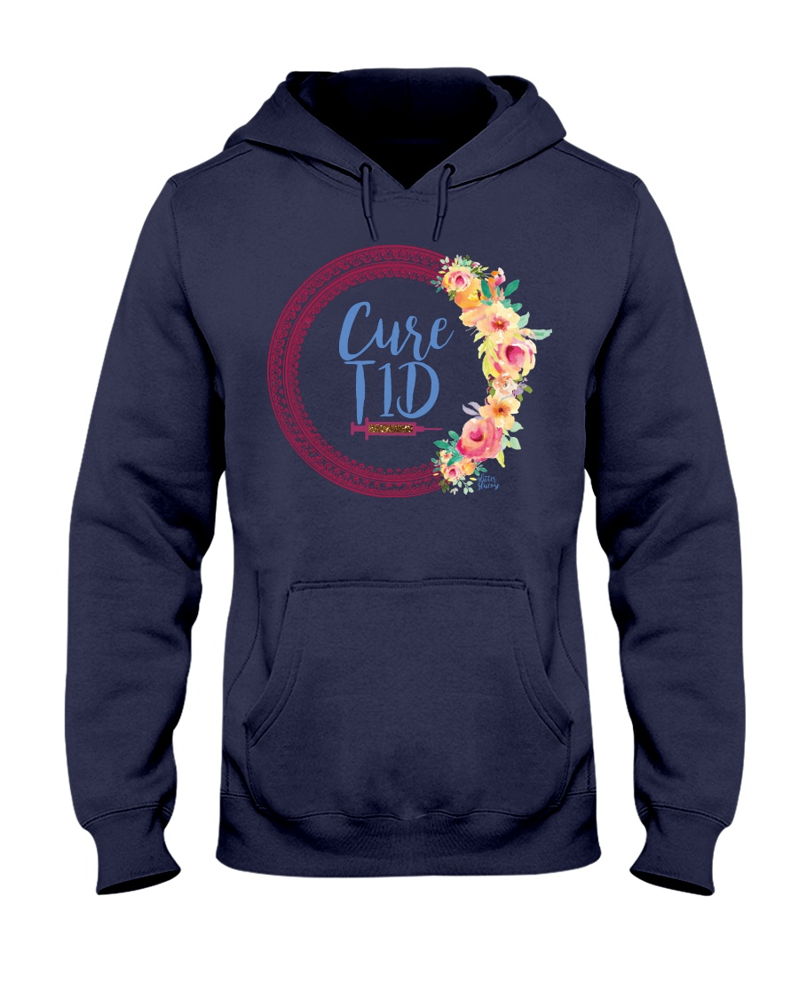 Classic Cure T1D Hooded Sweatshirt