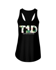 Team T1D Ladies Flowy Tank front