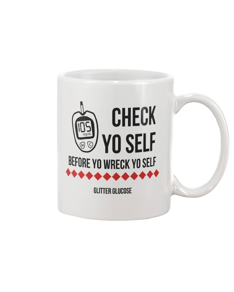 Check Yo Self Mug