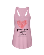 Gimme Some Sugar Ladies Flowy Tank front