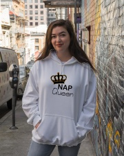 NAP QUEEN DESIGN Hooded Sweatshirt lifestyle-unisex-hoodie-front-1