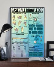 Baseball knowledge poster 11x17 Poster lifestyle-poster-2