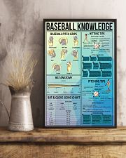 Baseball knowledge poster 11x17 Poster lifestyle-poster-3