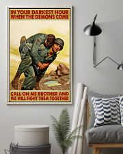 In Your Darkest Hour When The Demons Come  24x36 Poster lifestyle-poster-1