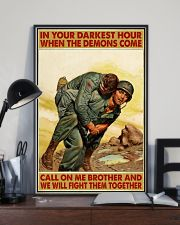 In Your Darkest Hour When The Demons Come  24x36 Poster lifestyle-poster-2
