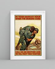 In Your Darkest Hour When The Demons Come  24x36 Poster lifestyle-poster-5