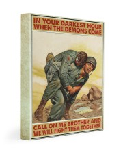 In Your Darkest Hour When The Demons Come  Gallery Wrapped Canvas Prints tile