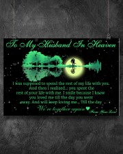 To My Husband In Heaven 36x24 Poster aos-poster-landscape-36x24-lifestyle-11