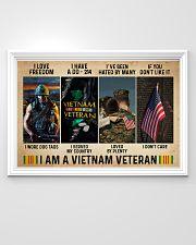 I Am A Vietnam Veteran 36x24 Poster poster-landscape-36x24-lifestyle-02