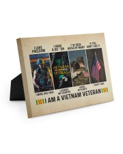 I Am A Vietnam Veteran 10x8 Easel-Back Gallery Wrapped Canvas thumbnail