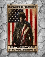 I'm Willing To Die For My Rights 11x17 Poster aos-poster-portrait-11x17-lifestyle-13