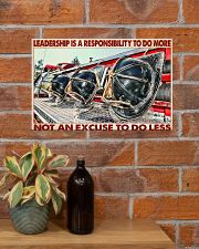 Leadership Is A Responsibility To Do More 17x11 Poster poster-landscape-17x11-lifestyle-23