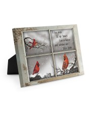 A Piece Of My Heart Lives in Heaven Gifts - TeeF1 10x8 Easel-Back Gallery Wrapped Canvas thumbnail