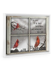A Piece Of My Heart Lives in Heaven Gifts - TeeF1 14x11 White Floating Framed Canvas Prints thumbnail