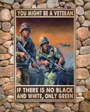 Gift For Veteran You Might Be A Veteran If There Is No Black And White 24x36 Poster aos-poster-portrait-24x36-lifestyle-15
