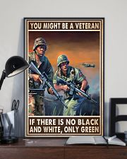 Gift For Veteran You Might Be A Veteran If There Is No Black And White 24x36 Poster lifestyle-poster-2