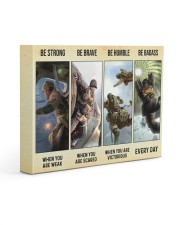 Airborne US Army Be Strong Be Brave 14x11 Gallery Wrapped Canvas Prints thumbnail