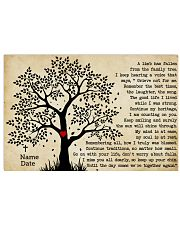A Limb Has Fallen From The Family Trees Horizontal Poster tile