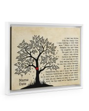 A Limb Has Fallen From The Family Trees Floating Framed Canvas Prints White tile