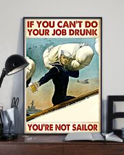 If You Can't Do Your Job Drunk 11x17 Poster lifestyle-poster-2